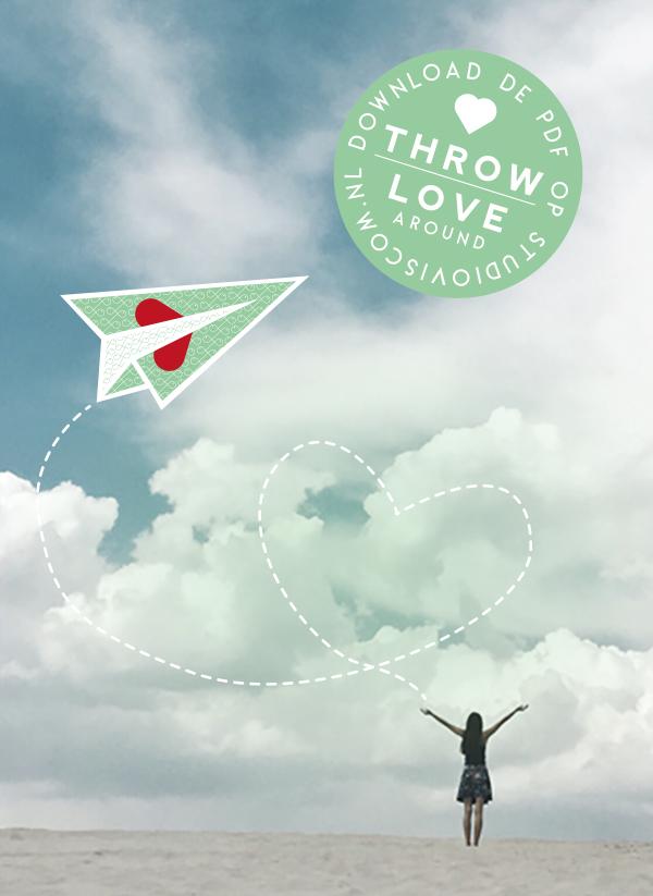Throw love around